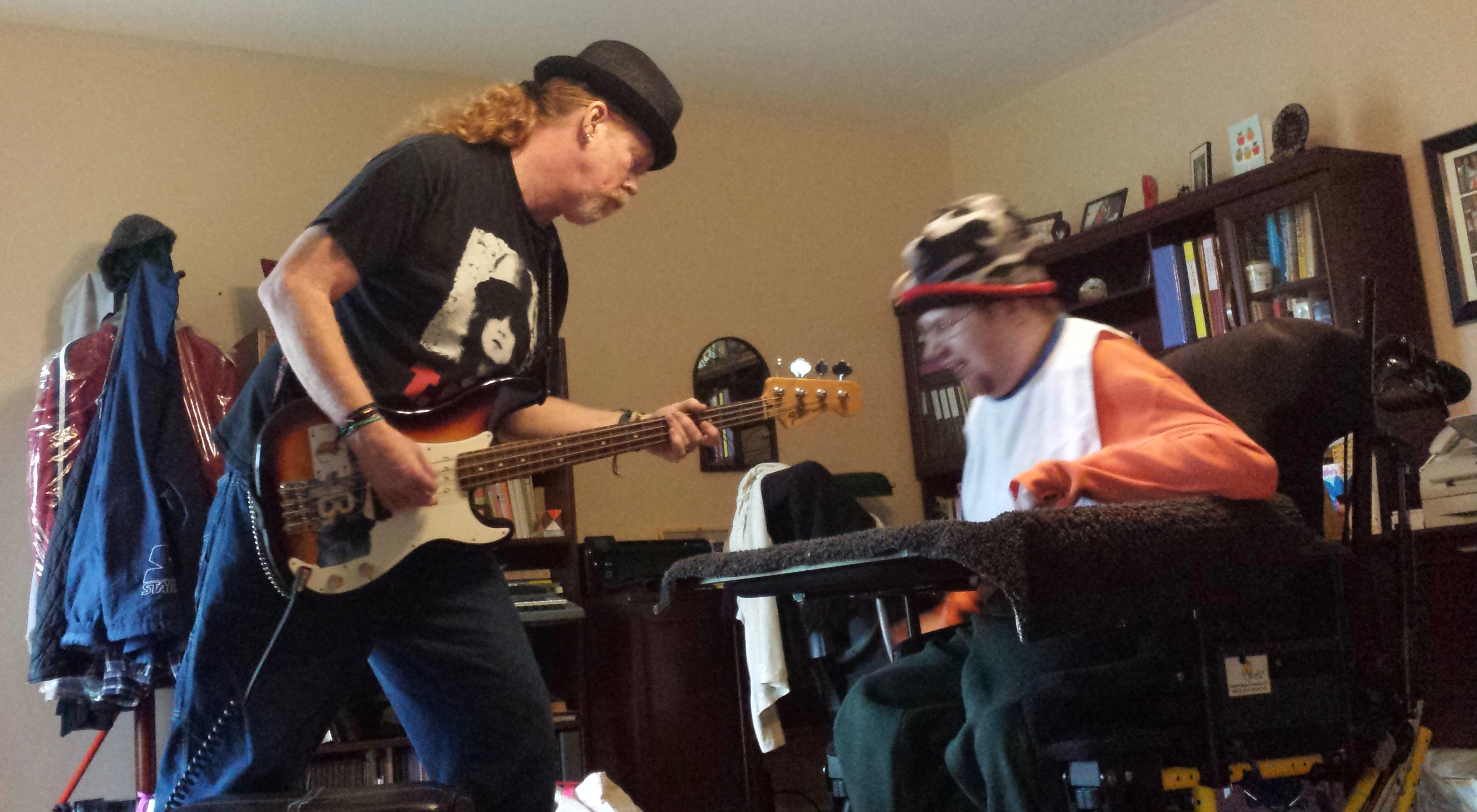John and Travis Making Music Together