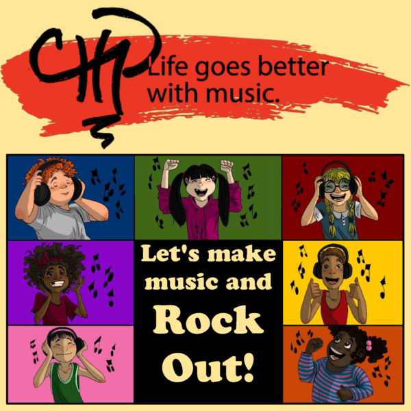 Rock Out Graphics for Registration and FB Post
